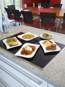 Fresh menus - quickly served and always tasty