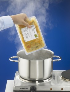 Boil-in-bag packages: Easy, quick and hygenic preparation