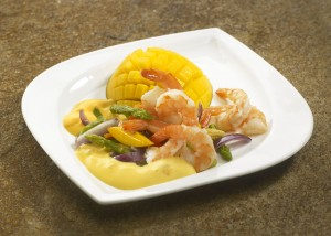 Our genuine mango curry sauce is ideal for fish dishes