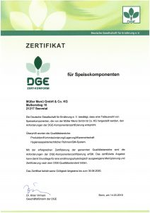 DGE-Zertkonform